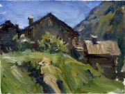 Cottages,_Italian_Alps,_40x30,_oil_on_canvas.jpg