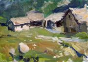 Valsavarenche,_Huts,_25x35,_oil_on_board.jpg